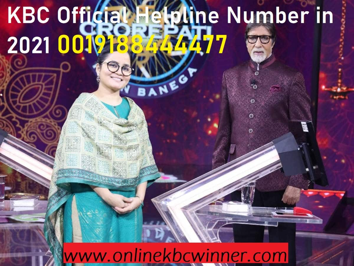 kbc helpline number