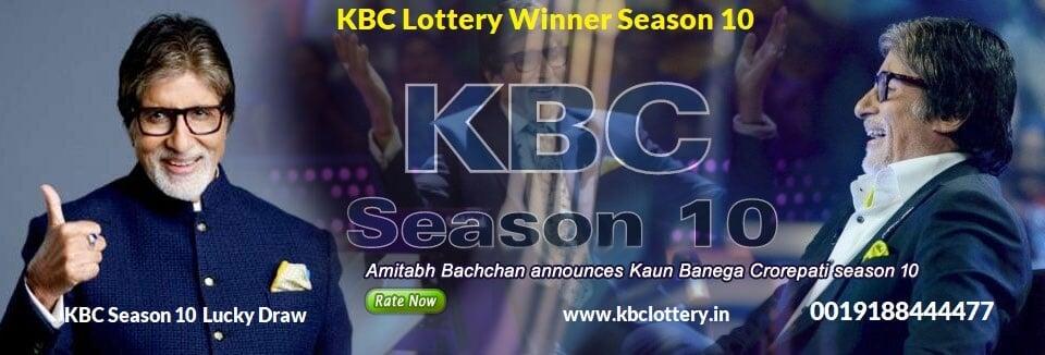 KBC Lottery Winner Season 10