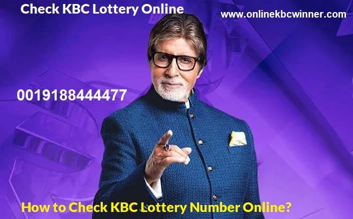 check kbc lottery